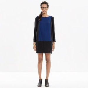 Madewell centerpiece silk jersey dress XXS